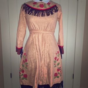 Girls Annie Oakley costume dress
